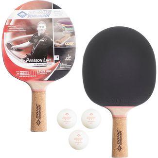 Donic-Schildkröt 1er Set Persson 600 Tischtennis Set schwarz