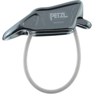 Petzl Reverso Sicherungsgerät gray
