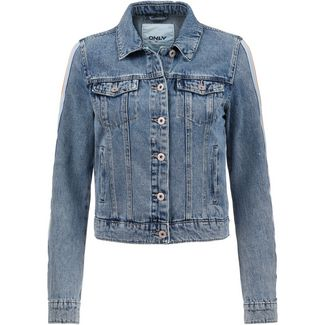 Only onlCHRIS Jeansjacke Damen medium blue denim