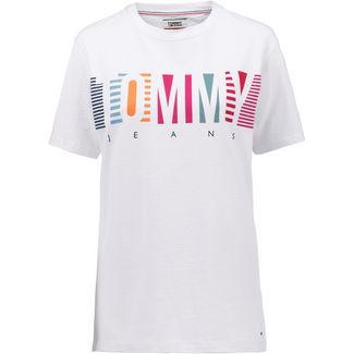 Tommy Jeans T-Shirt Damen classic white