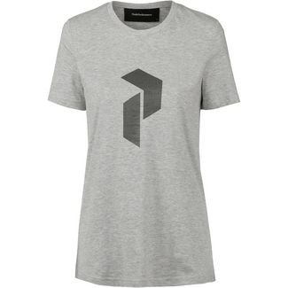 Peak Performance T-Shirt Damen med grey mel