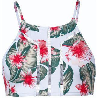 Roxy Dreaming Day Bikini Oberteil Damen bright white tropical love