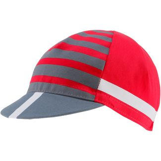 castelli FREE KIT Cap red-china blue