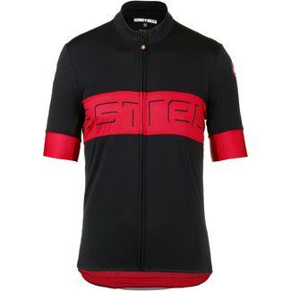 castelli PROLOGO VI Fahrradtrikot Herren black-red