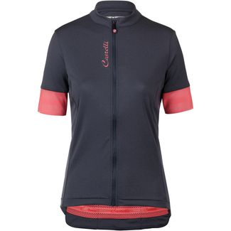 castelli Anima Fahrradtrikot Damen dark steel blue