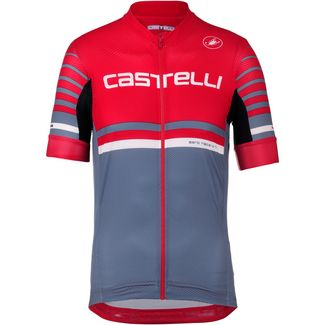 castelli FREE AR 4.1 Fahrradtrikot Herren red-light steel blue