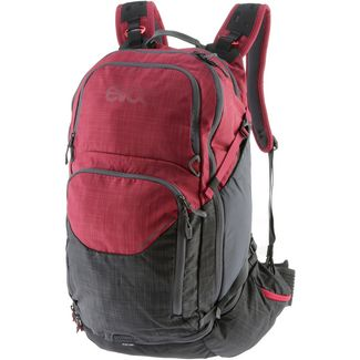 EVOC Explorer Pro 30l Fahrradrucksack heather carbon grey/heather ruby