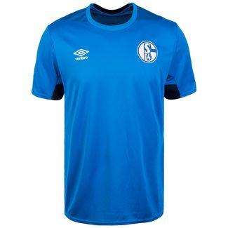 UMBRO FC Schalke 04 Fanshirt Herren blau / dunkelblau
