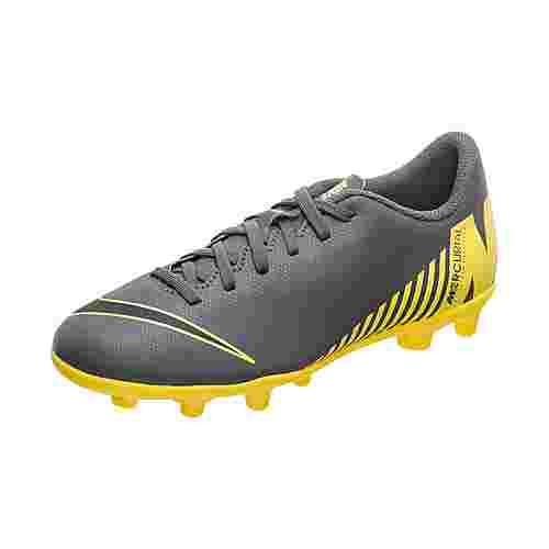 Nike Mercurial Vapor XII Academy Fußballschuhe Kinder dunkelgrau / gelb