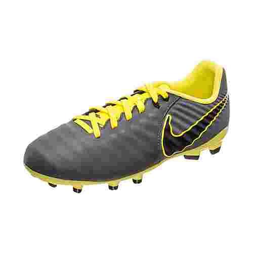 Nike Tiempo Legend VII Academy Fußballschuhe Kinder dunkelgrau / gelb