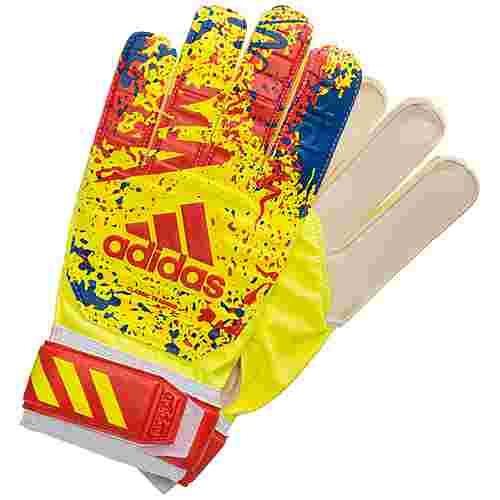 adidas Classic Training Torwarthandschuhe Herren gelb / rot