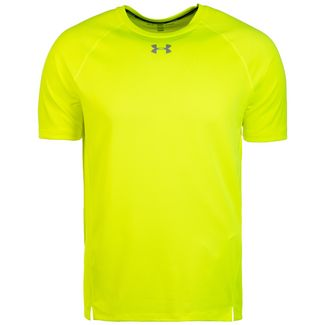 Under Armour Qualifier Laufshirt Herren gelb