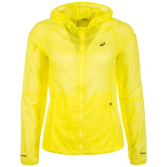ASICS Packable Laufjacke Damen gelb