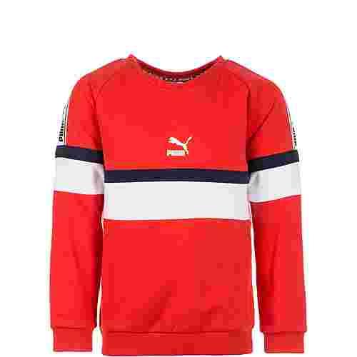 PUMA XTG Crew Sweatshirt Kinder rot / weiß