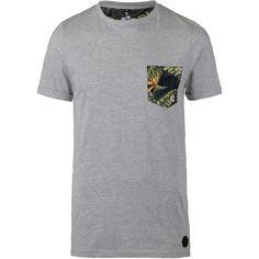 WLD By My Side Pocket T-Shirt Herren grey melange