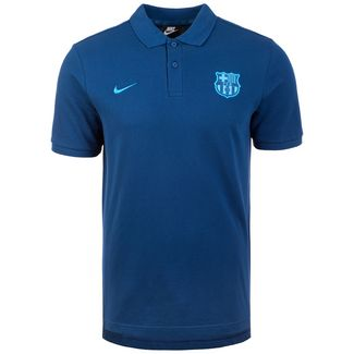half off d31ad 85e7e Nike FC Barcelona Poloshirt Herren petrol