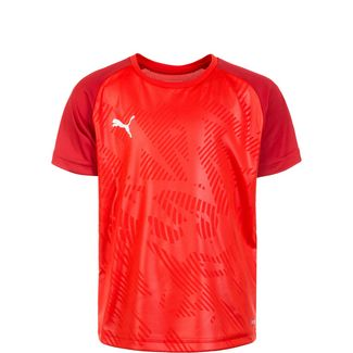 PUMA Cup Training Funktionsshirt Kinder rot / dunkelrot