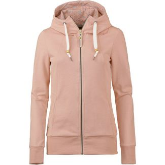 Ragwear Liberty A Organic Sweatjacke Damen dusty pink