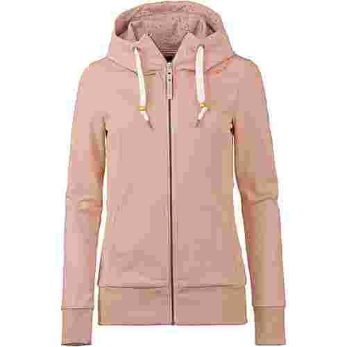 Ragwear Liberty A Organic Sweatjacke Damen dusty pink