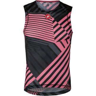 castelli PRO MESH Unterhemd Herren pink
