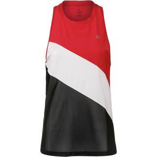 Calvin Klein NEW WAVE ATHLETICS Funktionstank Damen high risk red