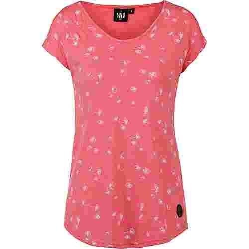 WLD South Body T-Shirt Damen coral