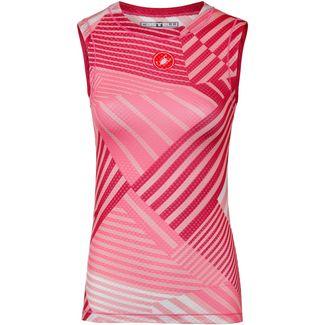castelli PRO MESH 2 Funktionstank Damen salmon-pink