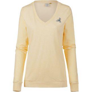 Ragwear Nelin Organic Sweatshirt Damen yellow