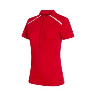 Mammut Atacazo Light Zip T-Shirt Women T-Shirt Damen ruby