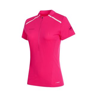 Mammut Atacazo Light Zip T-Shirt Women T-Shirt Damen pink