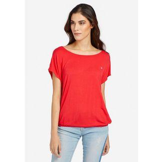 Khujo MELTANIA T-Shirt Damen koralle