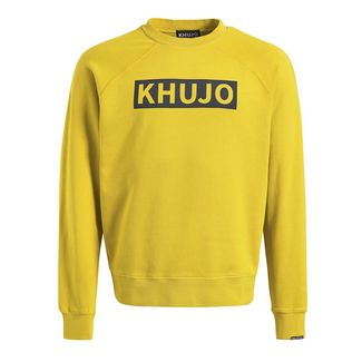 Khujo ELIAZ Sweatshirt Herren gelb