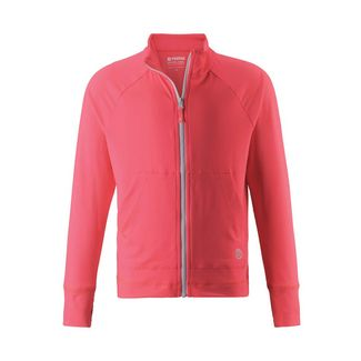 reima Block Sweatjacke Kinder Neon Red