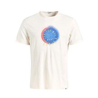 Khujo FINN TEXTURE T-Shirt Herren offwhite