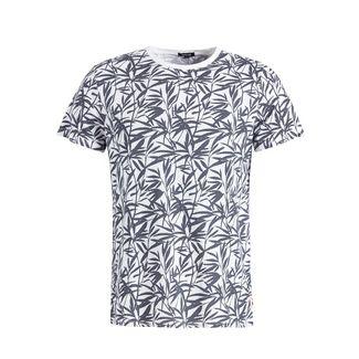 Khujo ALBERTO LEAF T-Shirt Herren schwarz