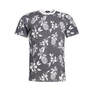 Khujo ALBERTO PINEAPPLE T-Shirt Herren schwarz