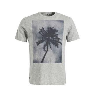 Khujo USLO PALM T-Shirt Herren grau