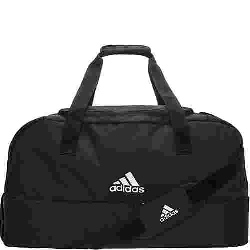 adidas Tiro Bottom Compartment Small Sporttasche schwarz / weiß