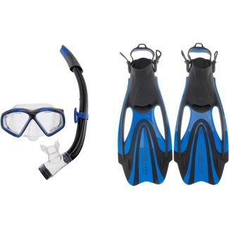 AQUA LUNG Set Hawkeye Schnorchelset blue-dark grey