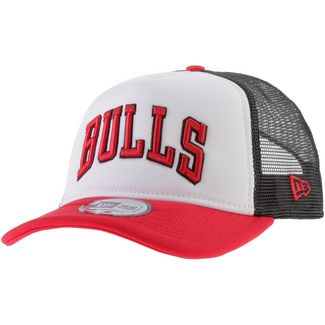 New Era Trucker Chicago Bulls Cap optic white-team colour