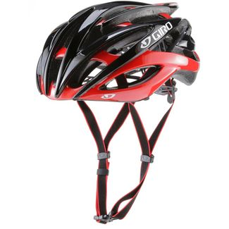 Giro Atmos II Fahrradhelm bright red-black
