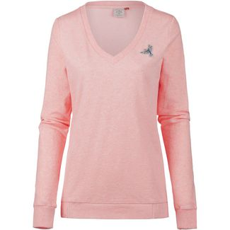 Ragwear Nelin Organic Sweatshirt Damen light red