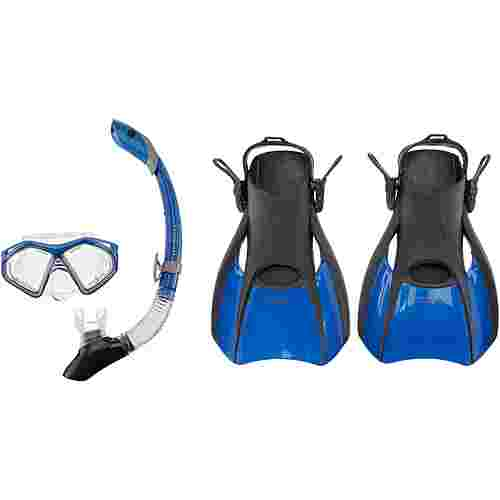 AQUA LUNG Set Trooper Schnorchelset blue-black