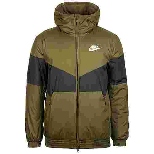 Nike Sportswear Synthetic Fill Outdoorjacke Herren oliv / schwarz