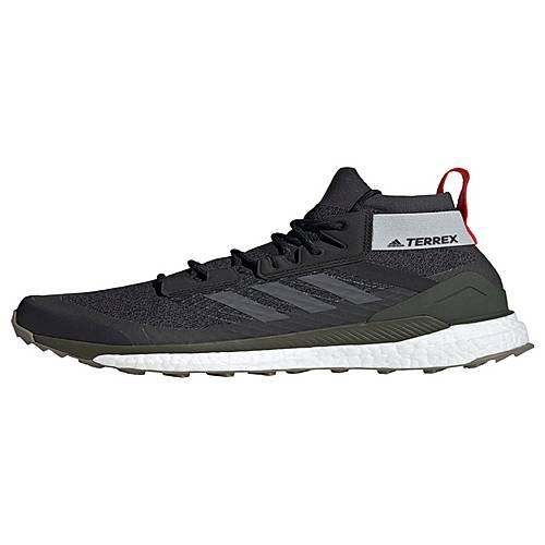 adidas TERREX Free Hiker Schuh Wanderschuhe Herren Core Black Grey Six Night Cargo im Online Shop von SportScheck kaufen