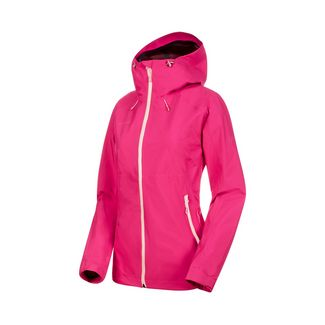 Mammut Convey Tour HS Hooded Jacket Women Hardshelljacke Damen pink-candy