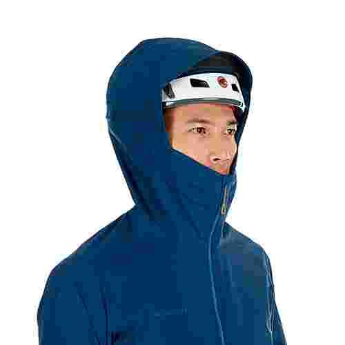 Mammut Masao Light HS Hooded Jacket Men Hardshelljacke Herren poseidon
