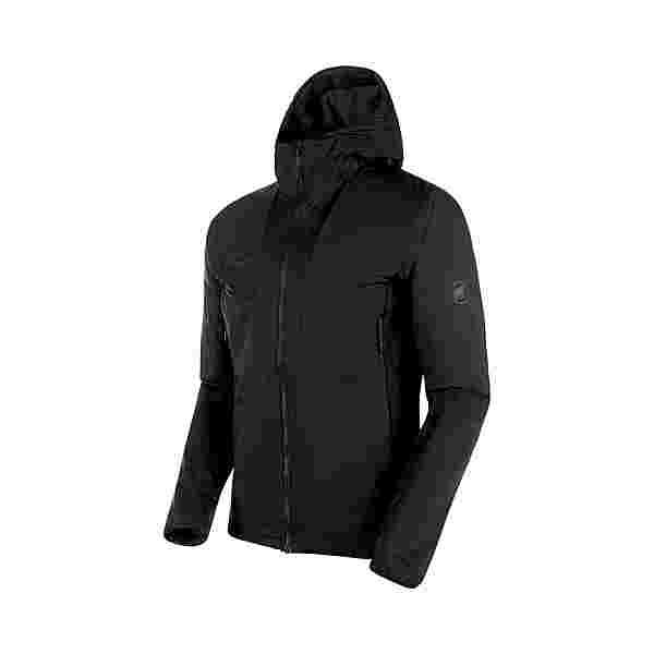 Mammut Rime Light Flex Hooded Kunstfaserjacke Herren black