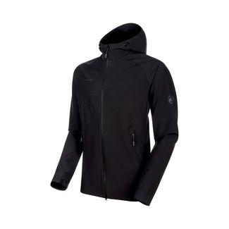 Mammut Macun SO Hooded Jacket Men Softshelljacke Herren black