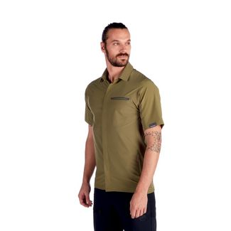 Mammut Crashiano Shirt Men Funktionshemd Herren olive